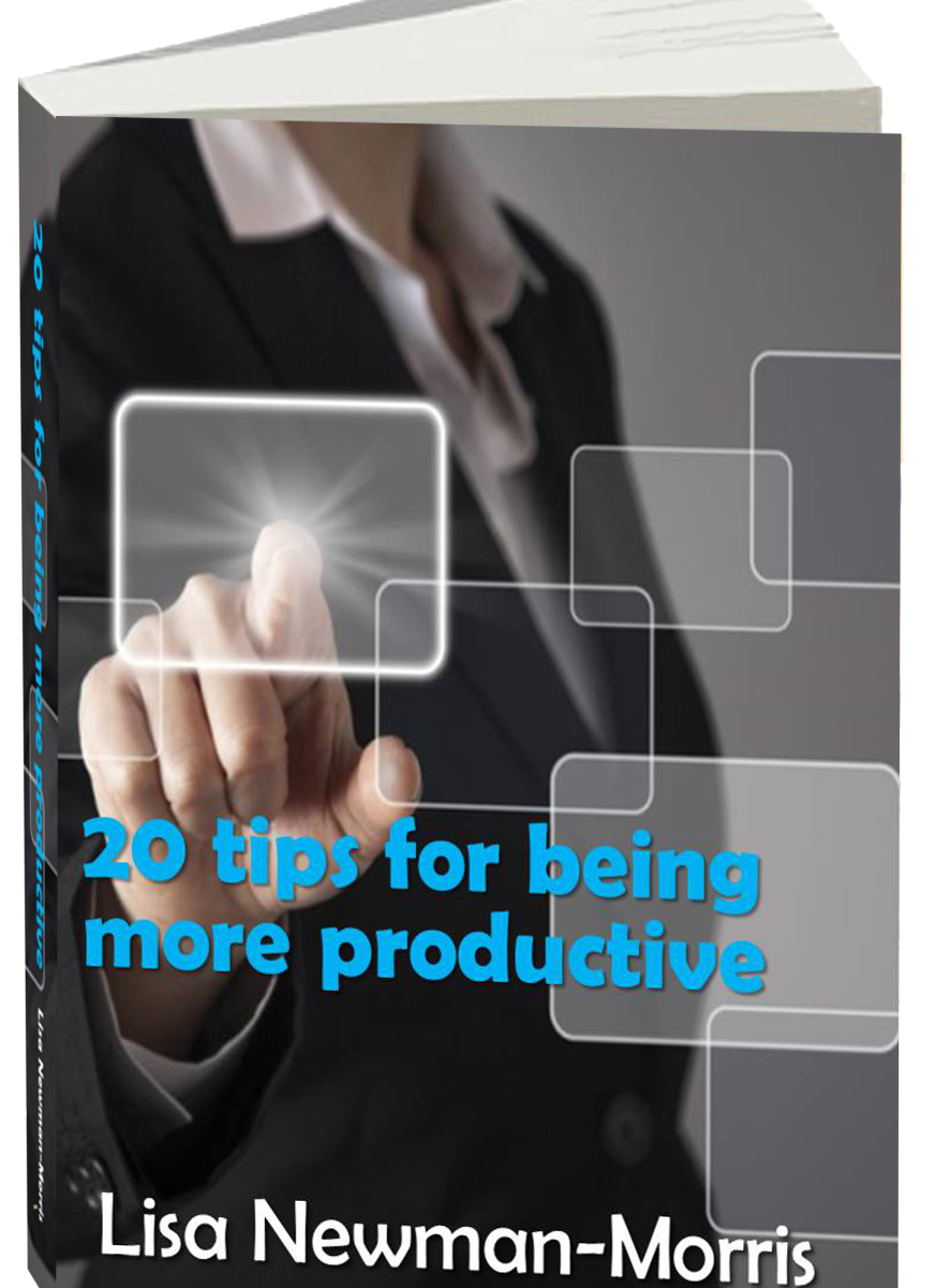 Productivity ebook -- 20 tips for being more productive