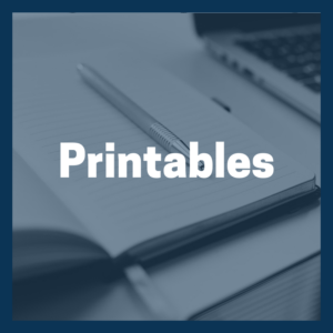 Business Resources Printables