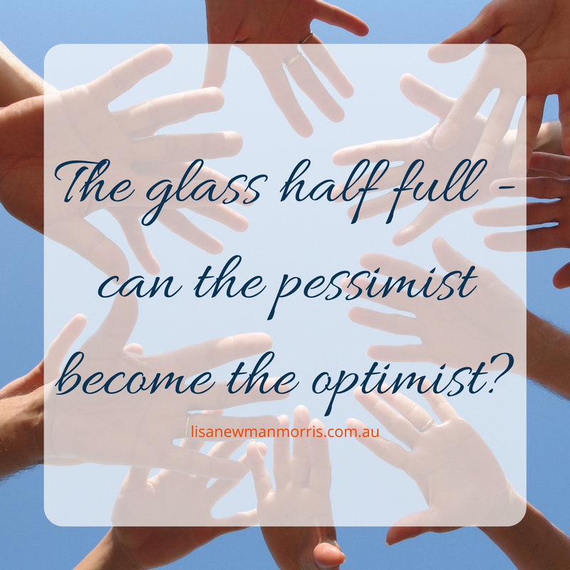 Can the pessimist become the optimist