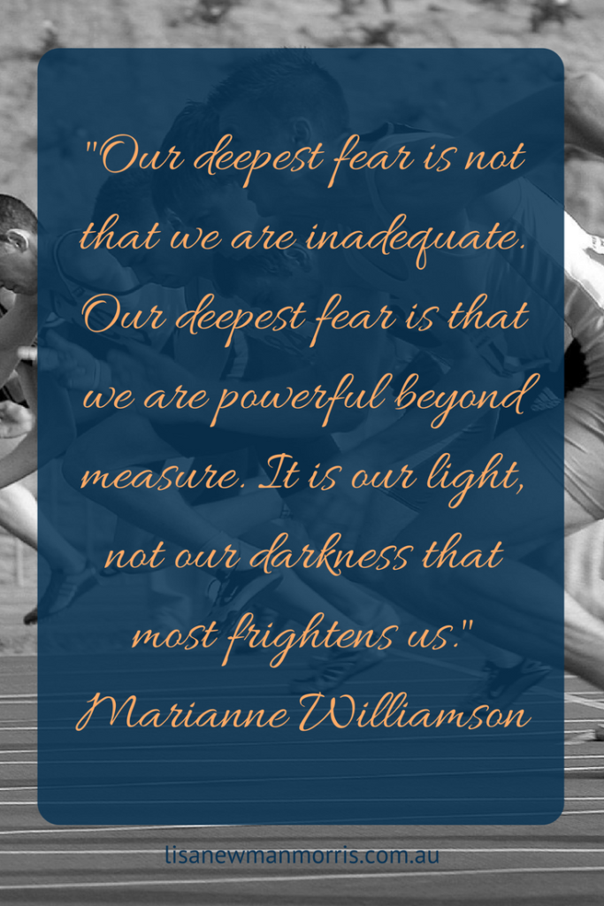 Human potential - Our deepest fear is not that we are inadequate