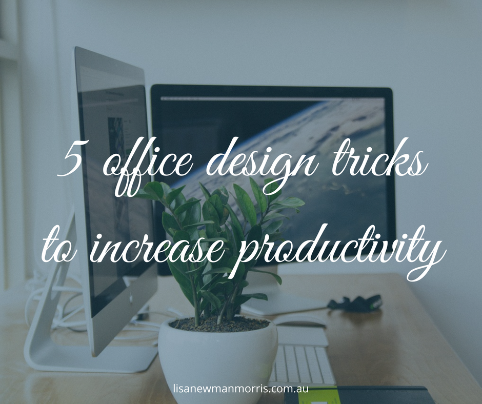 5 office design tricks to increase productivity