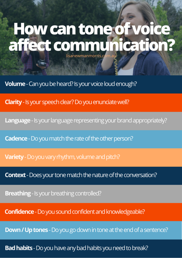 How can tone of voice affect communication_